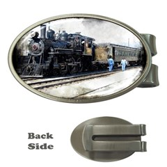 The Steam Train Money Clip (Oval)