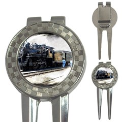 The Steam Train Golf Pitchfork & Ball Marker