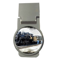 The Steam Train Money Clip (Round)