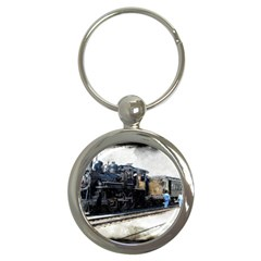 The Steam Train Key Chain (Round)