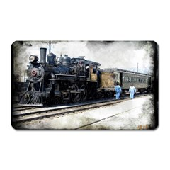 The Steam Train Large Sticker Magnet (Rectangle)