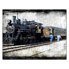 The Steam Train Jigsaw Puzzle (Rectangle)