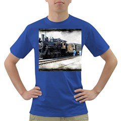 The Steam Train Colored Mens'' T-shirt