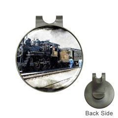 The Steam Train Hat Clip With Golf Ball Marker