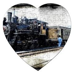 The Steam Train Jigsaw Puzzle (heart)
