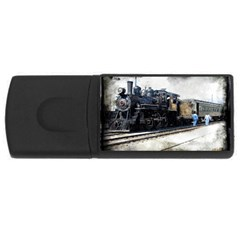 The Steam Train 4Gb USB Flash Drive (Rectangle)