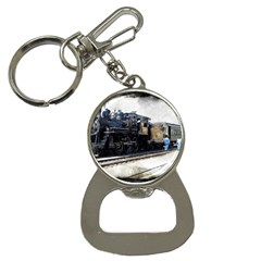 The Steam Train Key Chain With Bottle Opener