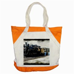 The Steam Train Snap Tote Bag
