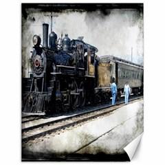The Steam Train 12  x 16  Unframed Canvas Print