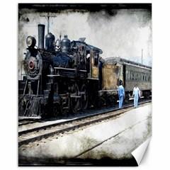 The Steam Train 16  x 20  Unframed Canvas Print