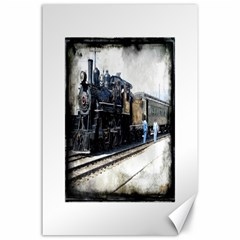 The Steam Train 24  X 36  Unframed Canvas Print