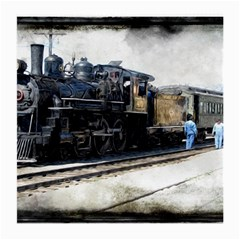 The Steam Train Twin Sided Large Glasses Cleaning Cloth