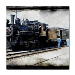 The Steam Train Face Towel