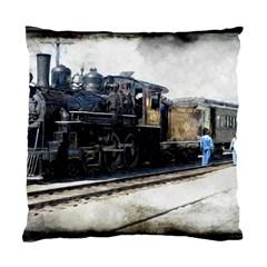 The Steam Train Single Sided Cushion Case