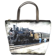 The Steam Train Bucket Handbag