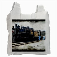 The Steam Train Single Sided Reusable Shopping Bag