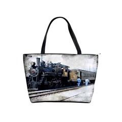 The Steam Train Large Shoulder Bag
