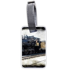 The Steam Train Twin-sided Luggage Tag