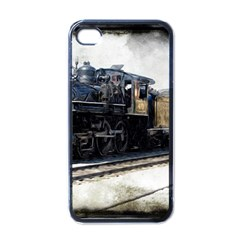 The Steam Train Black Apple iPhone 4 Case