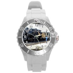 The Steam Train Round Plastic Sport Watch Large