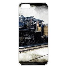 The Steam Train Apple Iphone 5 Seamless Case (white)