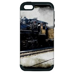 The Steam Train Apple iPhone 5 Hardshell Case (PC+Silicone)
