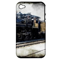 The Steam Train Apple iPhone 4/4S Hardshell Case (PC+Silicone)