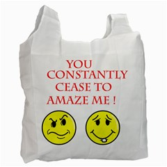 Cease To Amaze Single-sided Reusable Shopping Bag