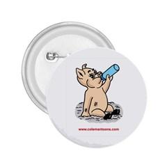 Pig3 Regular Button (Round)
