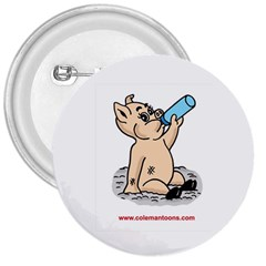 Pig3 Large Button (Round)