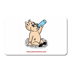 Pig3 Large Sticker Magnet (Rectangle)