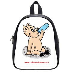 Pig3 Small School Backpack