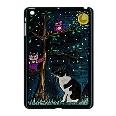 Whoooos Moonlight Tasha Apple iPad Mini Case (Black)