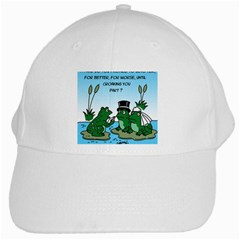 Frogswedding White Baseball Cap