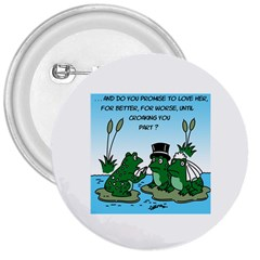 Frogswedding Large Button (Round)