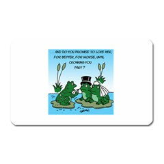 Frogswedding Large Sticker Magnet (Rectangle)