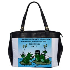 Frogswedding Single-sided Oversized Handbag