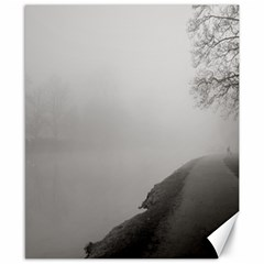 Foggy Morning, Oxford 8  X 10  Unframed Canvas Print
