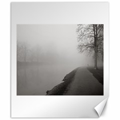 Foggy Morning, Oxford 20  X 24  Unframed Canvas Print