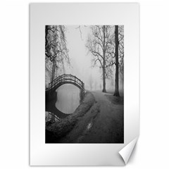 Foggy Morning, Oxford 24  X 36  Unframed Canvas Print