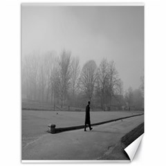 Foggy morning, Oxford 18  x 24  Unframed Canvas Print