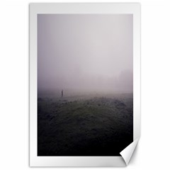 Foggy Morning, Oxford 20  X 30  Unframed Canvas Print