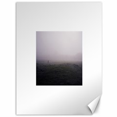Foggy morning, Oxford 36  x 48  Unframed Canvas Print