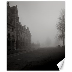 Christ Church College, Oxford 8  x 10  Unframed Canvas Print