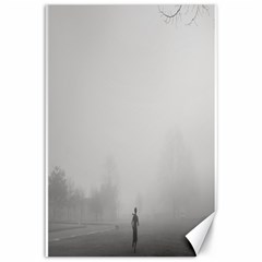 Foggy Morning, Oxford 12  X 18  Unframed Canvas Print