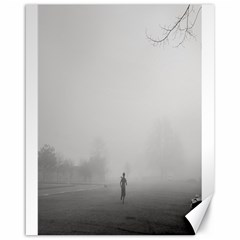 Foggy Morning, Oxford 16  X 20  Unframed Canvas Print