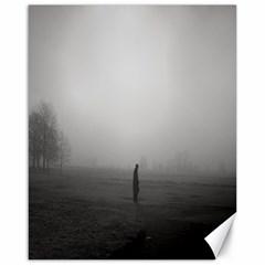 Foggy morning, Oxford 16  x 20  Unframed Canvas Print
