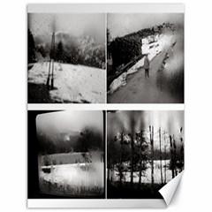 Rainy Day, Austria 18  X 24  Unframed Canvas Print