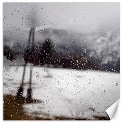 rainy day, Salzburg 16  x 16  Unframed Canvas Print