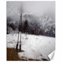 rainy day, Salzburg 16  x 20  Unframed Canvas Print